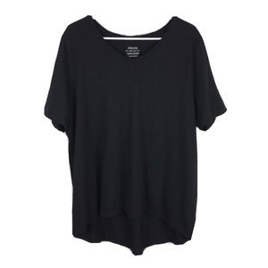 Chico's The Ultimate Tee Shirt Top V-Neck Hi-Low